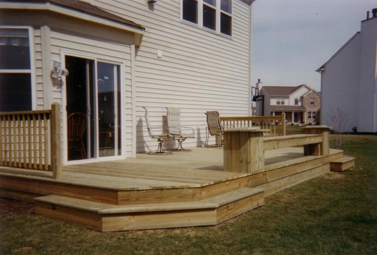 Decks by design deck designs for 10x10 deck plans